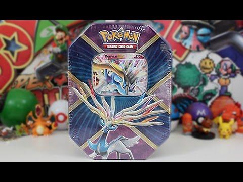 Opening A Pokemon Shiny Xerneas EX Tin!! - YouTube