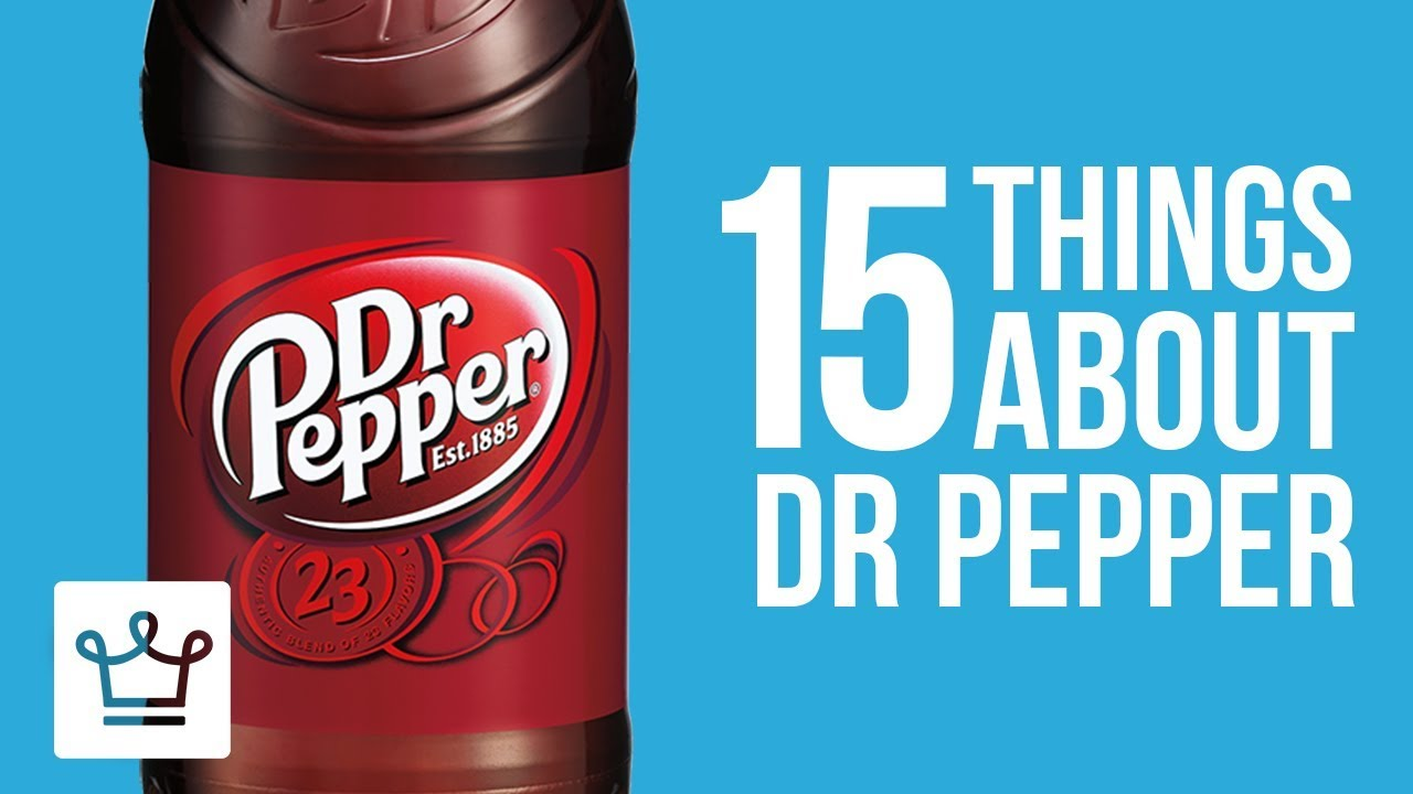 Download 15 Things You Didn't Know About Dr Pepper