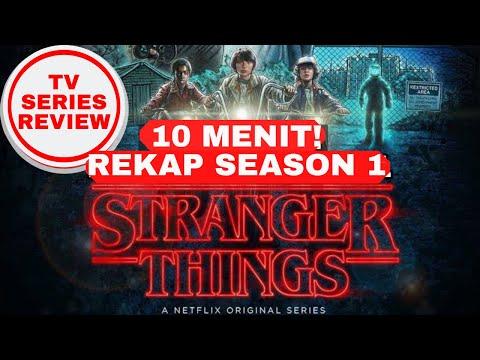 Rekap Stranger Things Season 1 Kurang Dari 10 Menit | Review Stranger Things INDONESIA