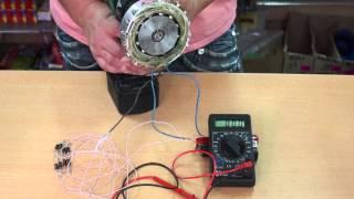 Самодельный мини генератор Homemade mini generator