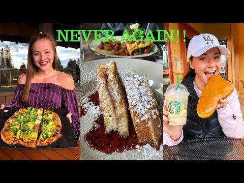 I'M NEVER EATING LIKE THIS AGAIN!! Travel Vlog 8  Lauren Miller