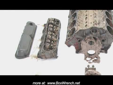 Ford 351 Windsor Small Block Engine - Water in Oil Mystery - YouTube
