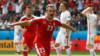 Video Gol Pertandingan Swiss vs Hungaria