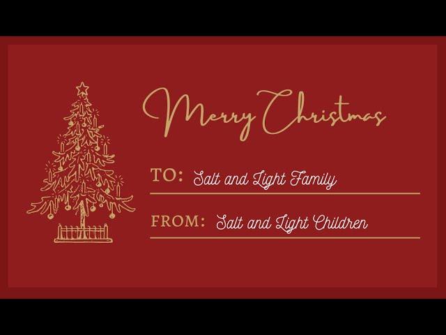 2020 Children's Virtual Christmas Choir