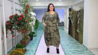 Платье женское больших размеров торговой марки DARKWIN от компании DARKMEN Турция Стамбул