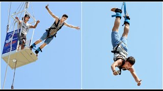 Extreme Bungee Jumping - 2016 Antalya - TURKEY ( let's have fun - with subtitles )