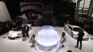 Lamborghini Asterion LPI 910 4 unveiled at Paris Motor Show 2014