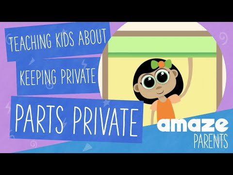 Help kids learn why it's important to keep private parts private [with Tusky & Friends]