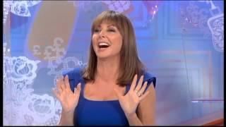 Carol Vorderman   Sexy In Tight Blue Dress   05 Oct 11 tvStars