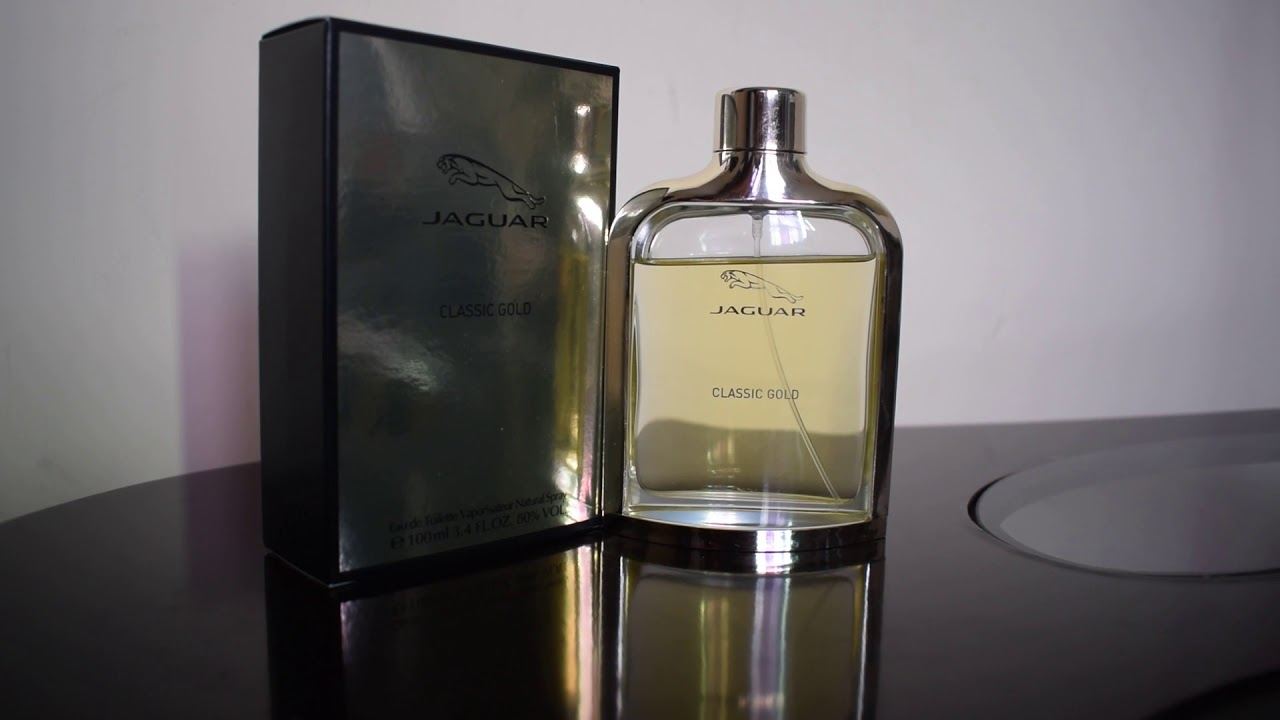 Perfume Jaguar Classic Gold Youtube