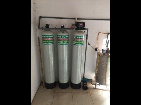 Bộ lọc nước giếng khoan DHGK03C tại nhà anh Tuấn – Thôn 1 – Ninh Hiệp