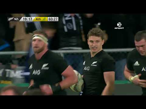 2017 Rugby Championship Rd 2 - New Zealand v Australia