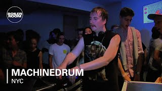 Machinedrum LIVE in the Boiler Room NY