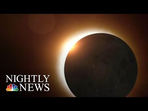 Thousands Prepare For Upcoming Lunar Eclipse | NBC Nightly News