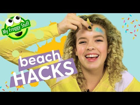 DIY Beach Hacks 2018 | MyFroggyStuff x GoldieBlox