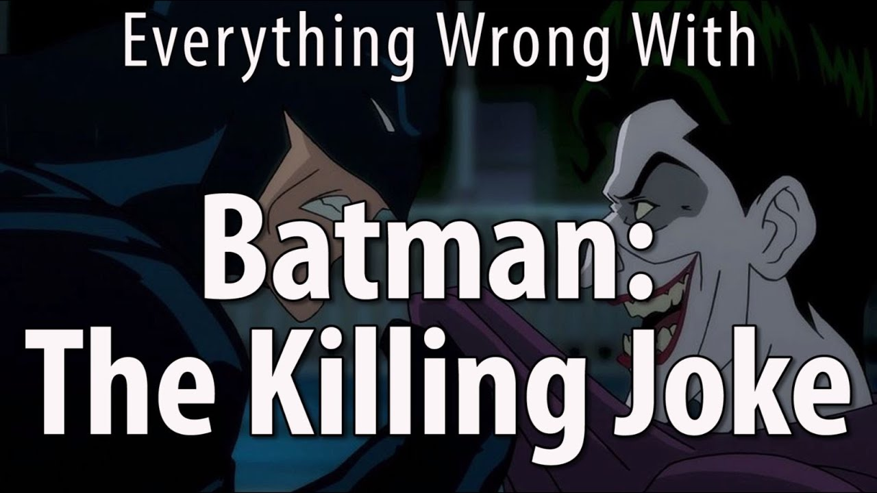 Download Everything Wrong With Batman: The Killing Joke