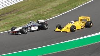2018F1日本GP レジェンドF1 デモンストレーションラン 鈴鹿サーキット