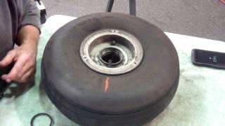Aircraft Main Wheel Assembly  - Grumman Style
