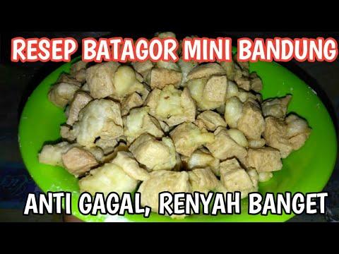 Resep Batagor Mini Bandung Kriuk Renyah Dan Nikmat Youtube