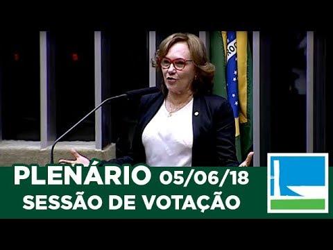 PLENÁRIO - Sessão Deliberativa - 05/06/2018 - 14:00