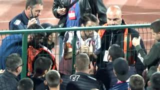 #RESPECT! Bulgarian Captain I.Popov talking to the fans to stop the racist abuse against England 0-6