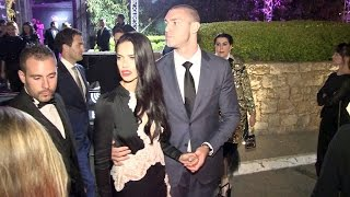 adriana lima and boyfriend joe chloe sims and more at chopard dinner in cannes