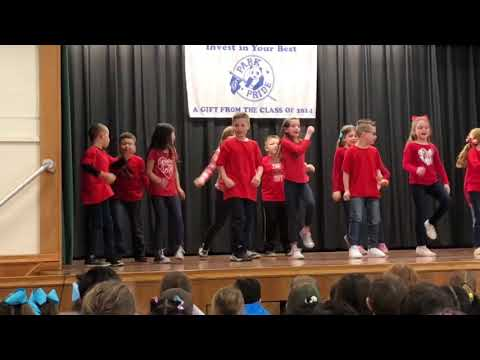 Jayden 2nd grade dance residency