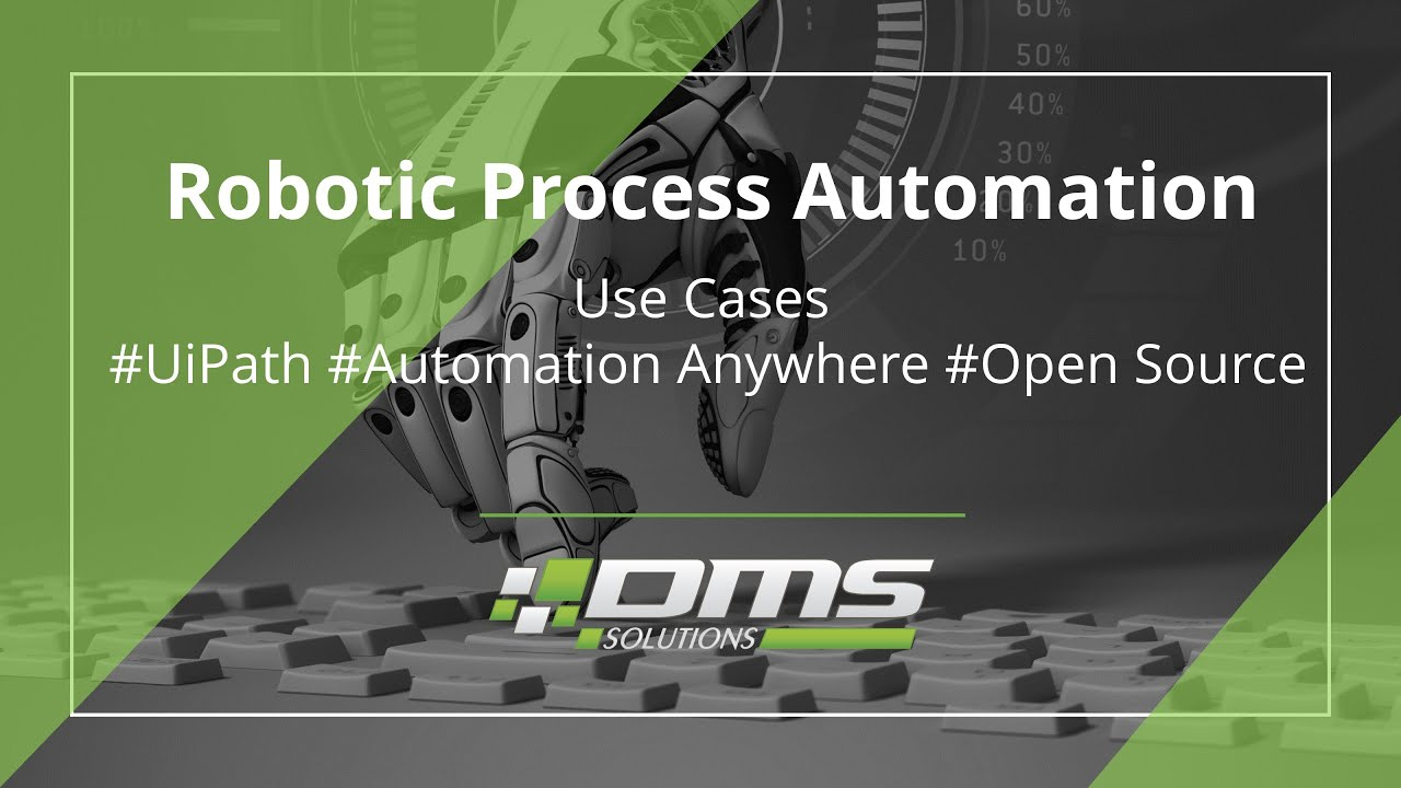 Robotic Process Automation | DMS Solutions Co