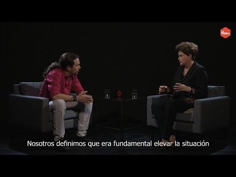 Otra Vuelta de Tuerka - Pablo Iglesias con Dilma Rousseff (programa completo)