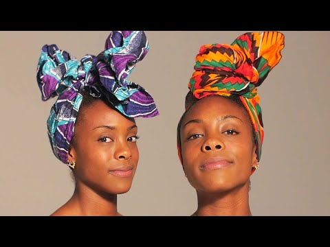 Download Youtube: One Woman, 10 Headwrap Styles