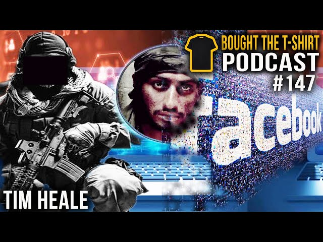 Psyops | Tim Heale | 15 (UK) Psychological Operations Group | Bought the T-Shirt Podcast