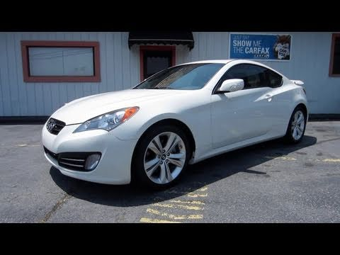 2010 Hyundai Genesis Coupe 3.8 Grand Touring Start Up, Exhaust, In Depth  Tour, And Short Drive   YouTube