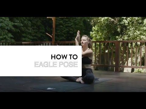how to eagle hands pose  youtube