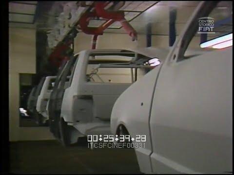 FIAT Uno (FIAT Ritmo) - Tecnologie di produzione (Mirafiori / Rivalta) \ 1983 \ ita (L) - sfx (R)