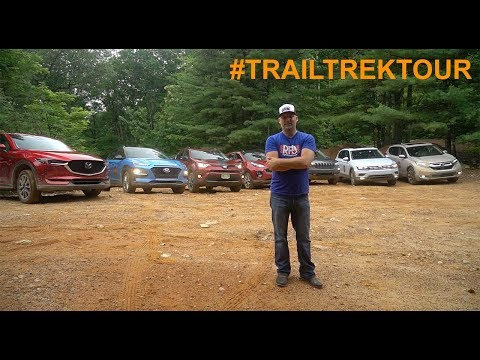 2018 Trail Trek Tour - Testing Seven AWD Crossovers Off-Road