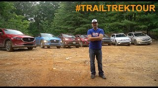 homepage tile video photo for 2018 Trail Trek Tour - Testing Seven AWD Crossovers Off-Road