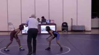 Teia Wrestling - SMS vs Lawson 70 lb division