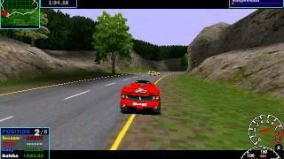 NFS Road Challenge gameplay