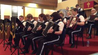 Killaloe - Forth Bridges Accordion Band - Concert Group Feb 2015