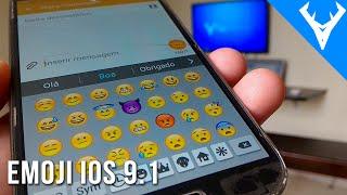 Como ter os emojis do IOS 9.1 no android - Emoji do iphone