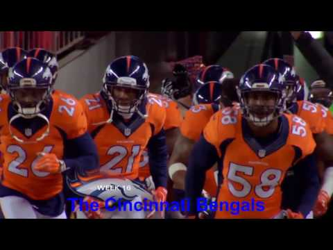 The 2015 Denver Broncos - Road to Super Bowl 50 Part 3 : Weeks 13-17