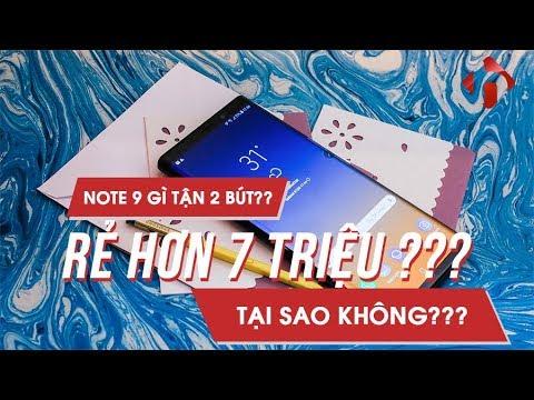 Note 9 Gì Có 2 BÚT Thế Này, Rẻ Hơn FPT Tầm 7 Triệu Đồng. Note 9 Hàn Special Edition | HungMobile