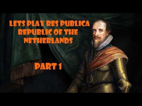 Lets Play EU4 Res Publica - Netherlands Part 1