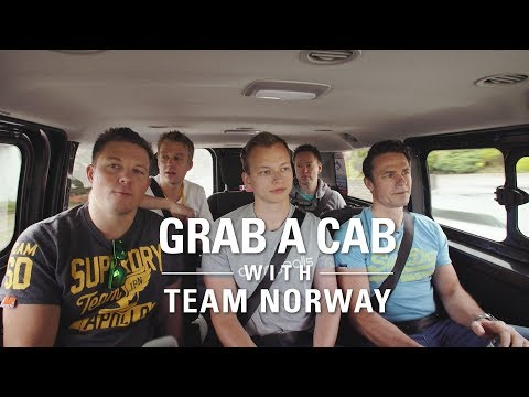 Grab a Cab with... Team Norway