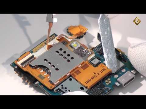 Sony Ericsson Xperia Ray - как разобрать телефон и из чего состоит