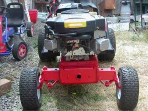 how to build a slasher mower