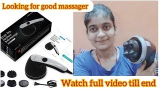 Best And Affordable Handheld Massager Review By #befreewithyashi #Healthsense