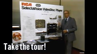 RCA Selectavision Videodisc Production Tour PT1
