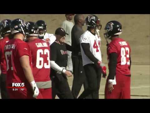 Falcons WR Julio Jones practices, coach says