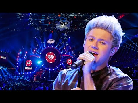 Niall Horan Performing At iHeartRadio Jingle Ball...